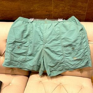AFTCO Blue Water Men's Sz 46 MultiPocket Shorts